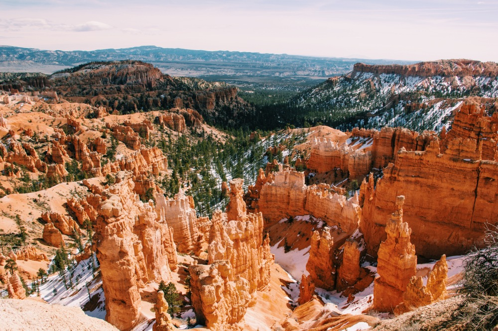 Snow in the Hoodoos, Bryce Canyon