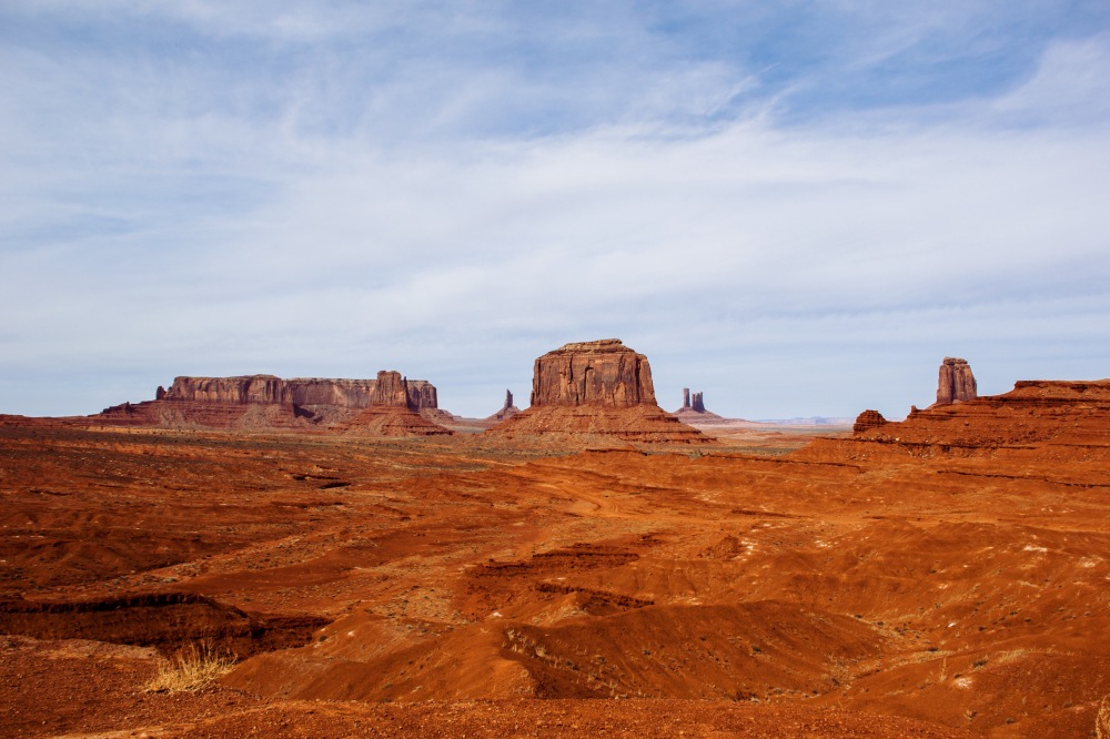 Monument Valley In March
