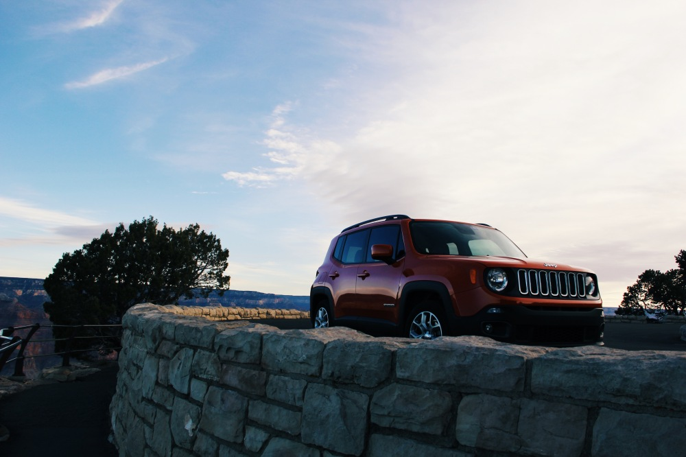 Jeep Renegade at the Grand Canyon