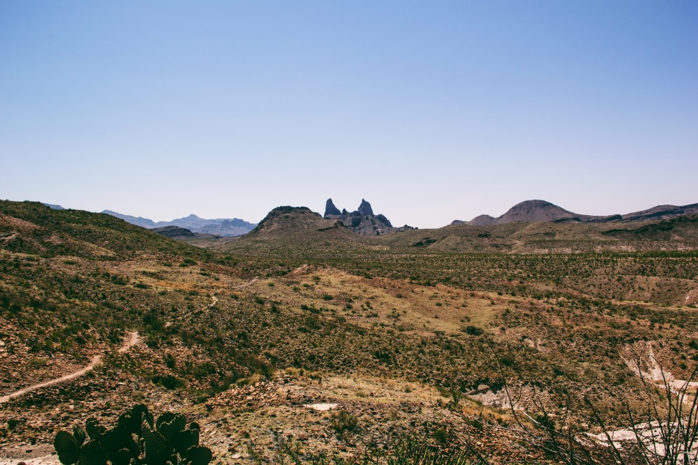 Mule Ears view point, Big Bend Natl. park