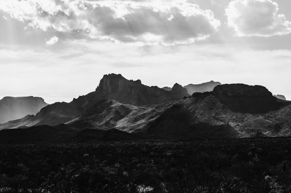 Big Bend Natl. Park mountains