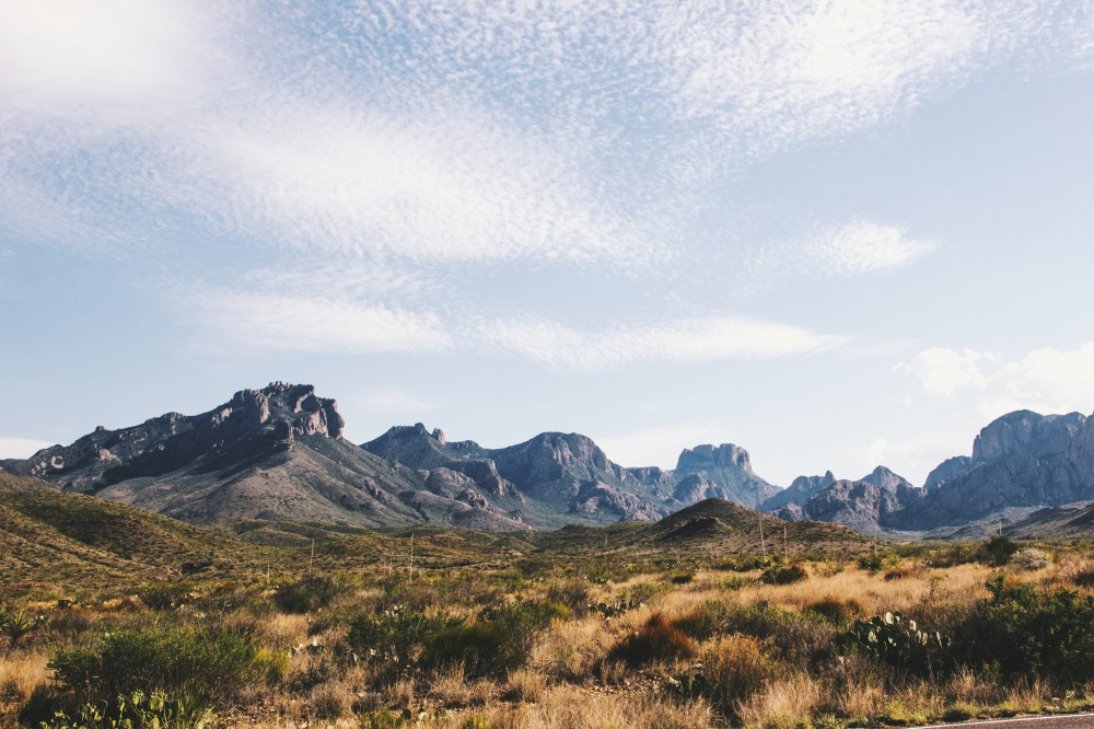 Chisos mountains, Texas