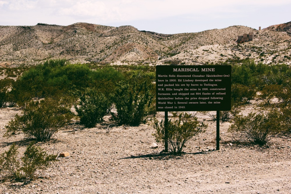 Mariscal Mines, Big Bend natl. park