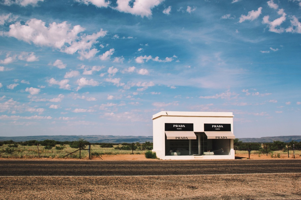 Prada, Marfa - South Texas art installation