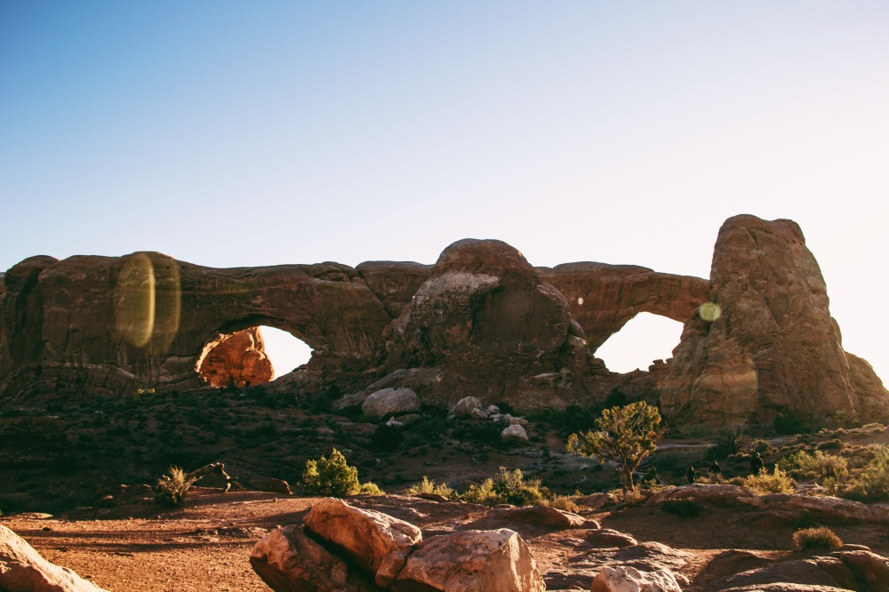 The Magnificent Windows, Arches National Park