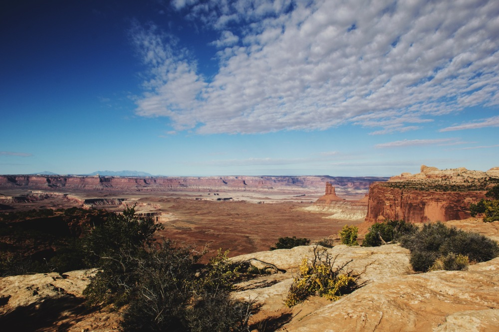 Orange Cliffs Overlook, Canyondlands national park, Utah