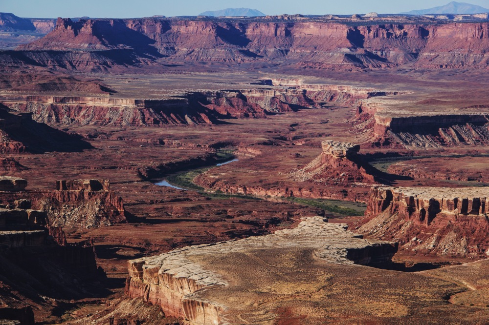 Green River Overlook landscape, Canyonlands NP