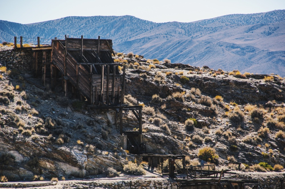 Skidoo Stamp Mill, Death Valley national park