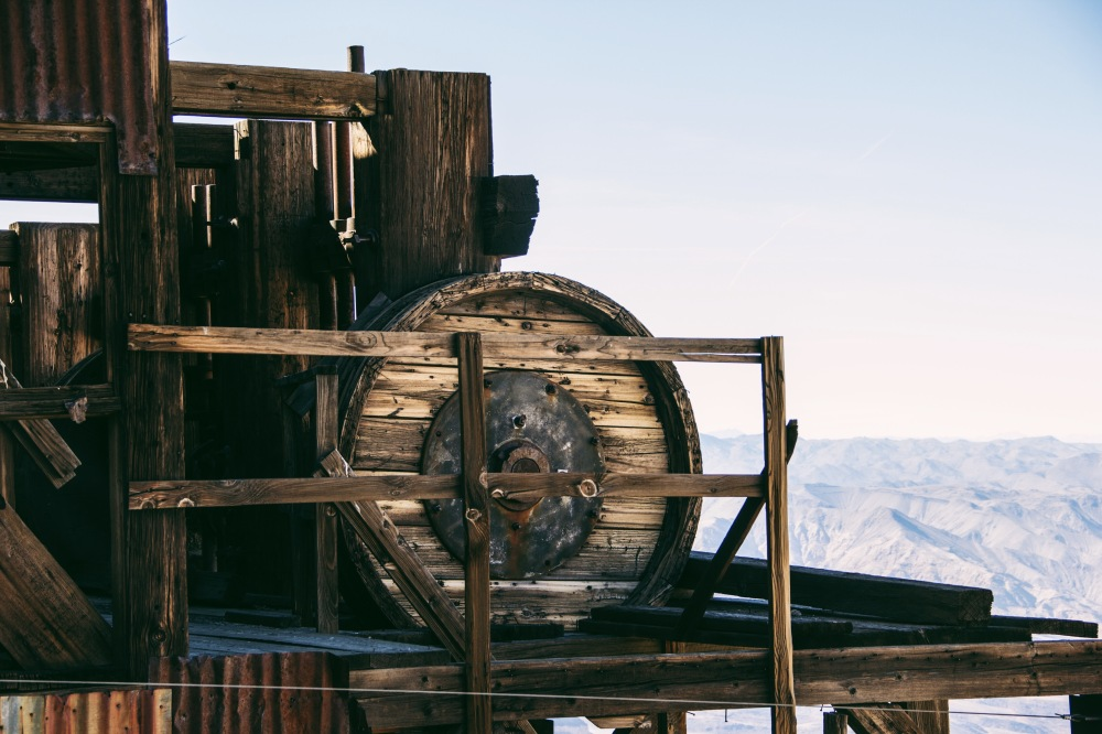 Skidoo Stamp Mill, Death Valley NP