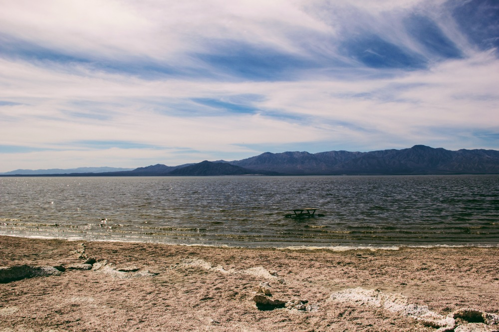 the Salton Sea, California
