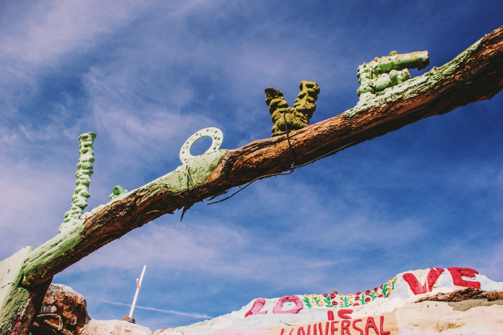 Love at Salvation Mountain, California