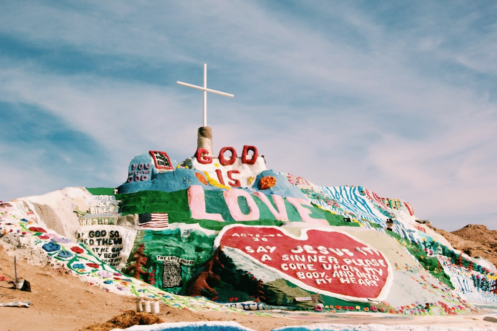 Salvation Mountain, California