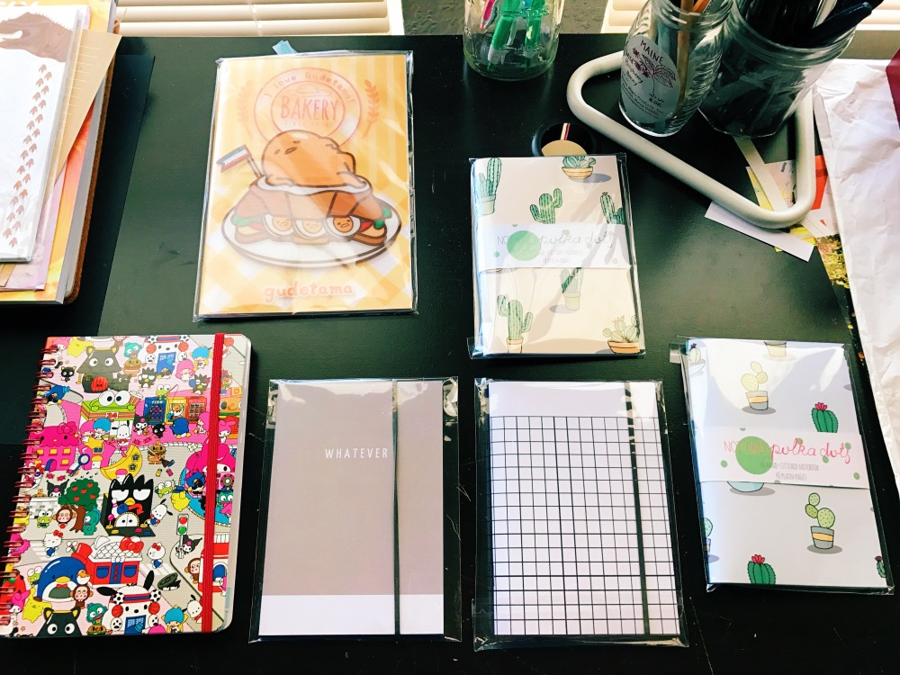 monthly notebooks
