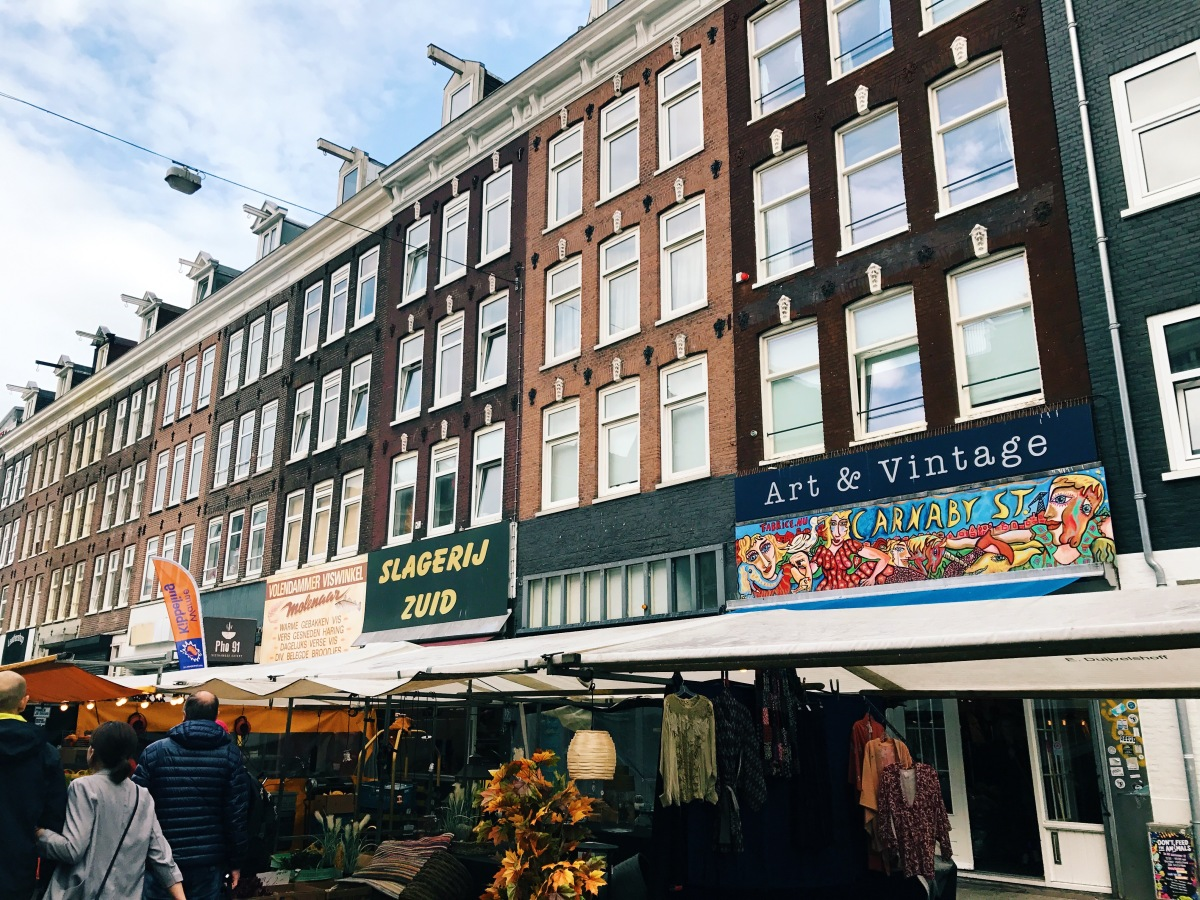 Intimate with Van Gogh and Market Flowers- Amsterdam