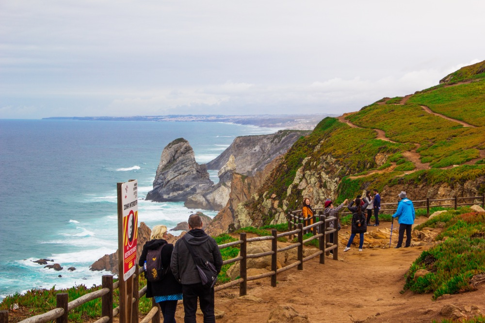 Coastline view of Cabo Da Roca